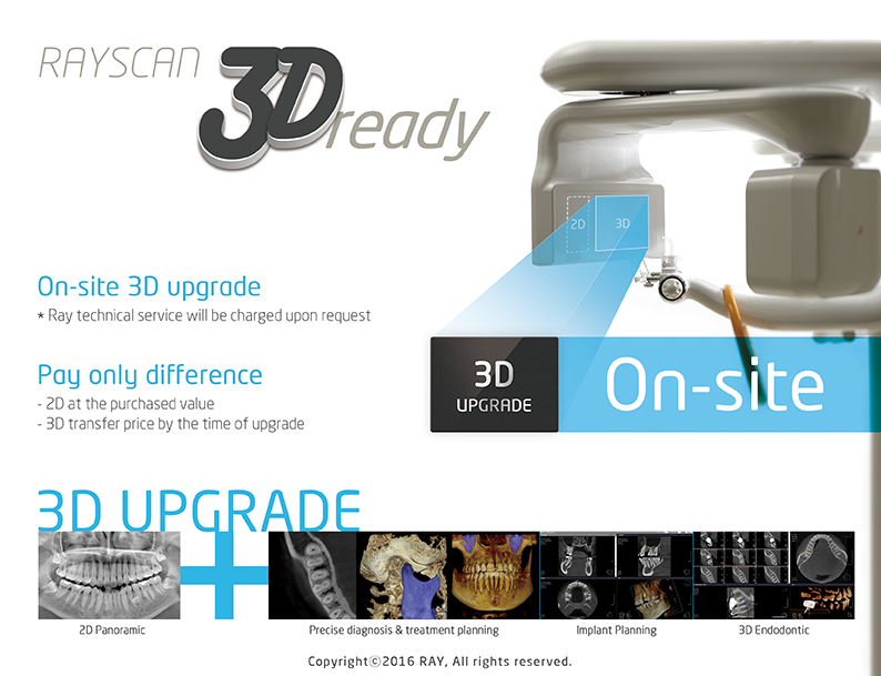 RAYSCAN 3D ready