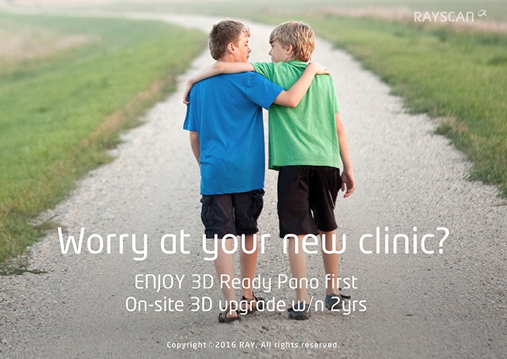 RAYSCAN 3D Ready on-site. Buy 3D Ready Pano first.