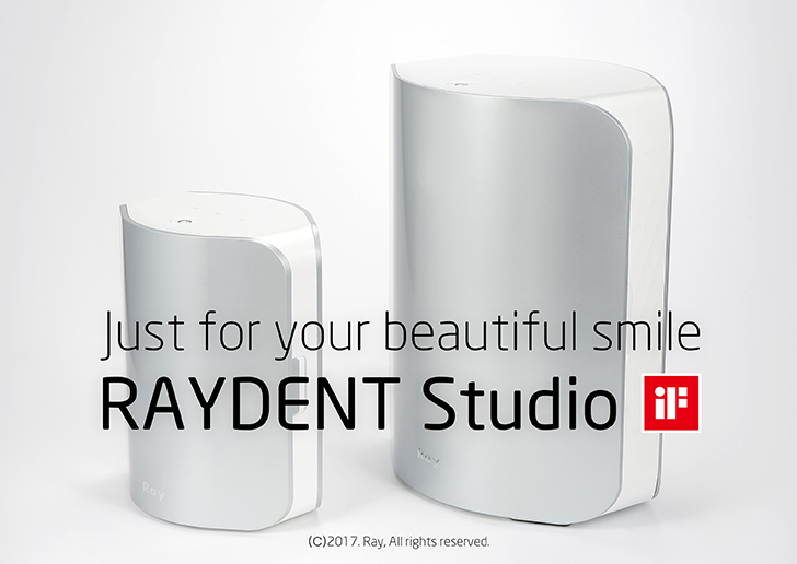 RAYDENT Studio Page Opened