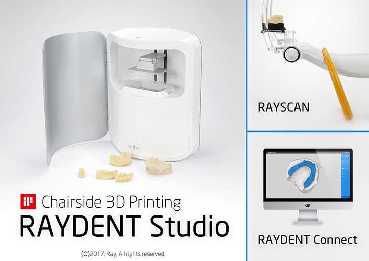 3D Printing Solution: RAYSCAN to RAYDENT Studio