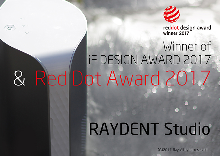 RAYDENT Studio wins Red Dot for high quality design